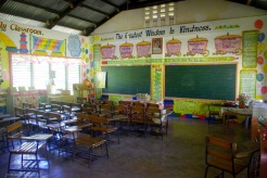 One of the class rooms.